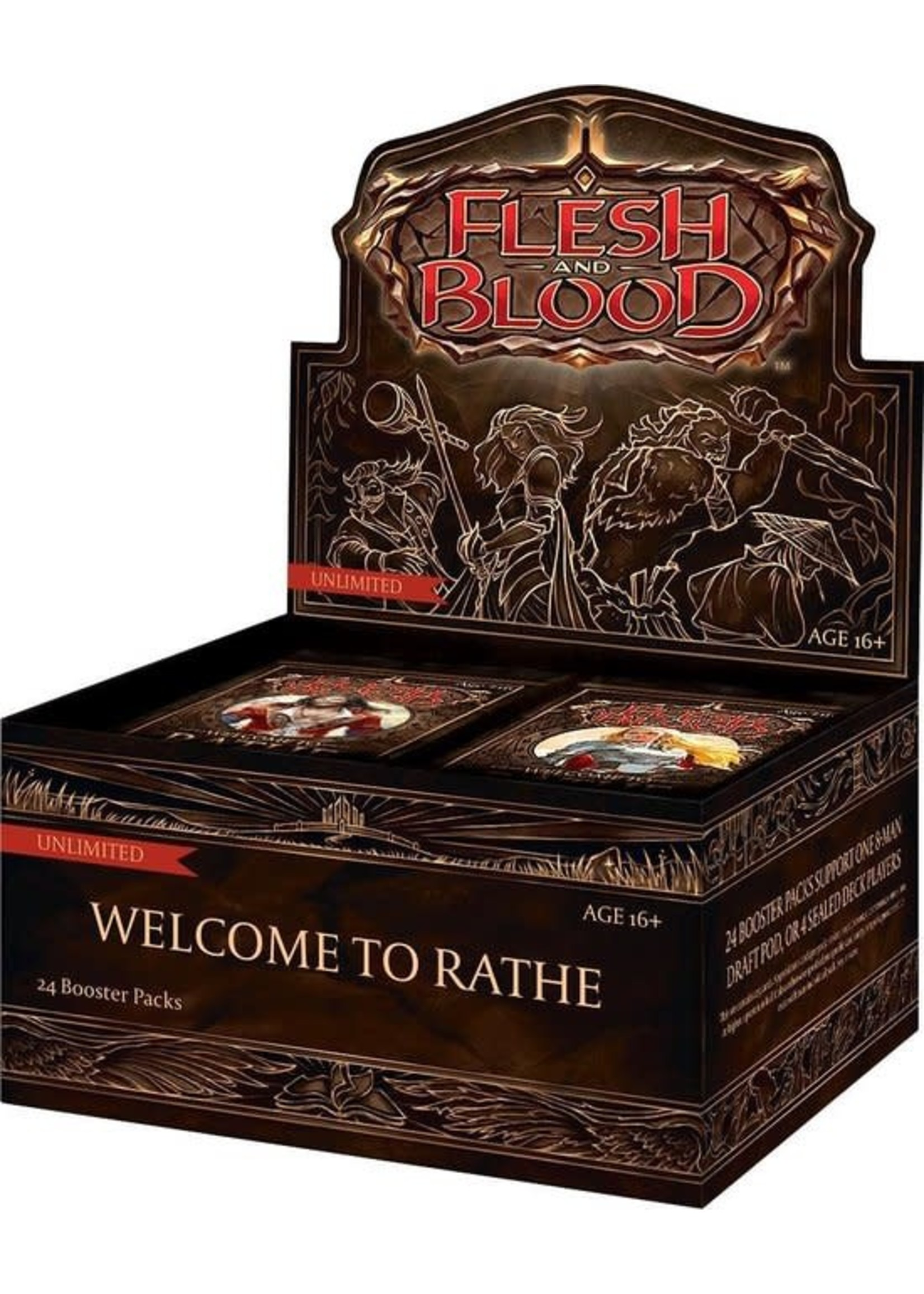Flesh and Blood - Welcome To Rathe