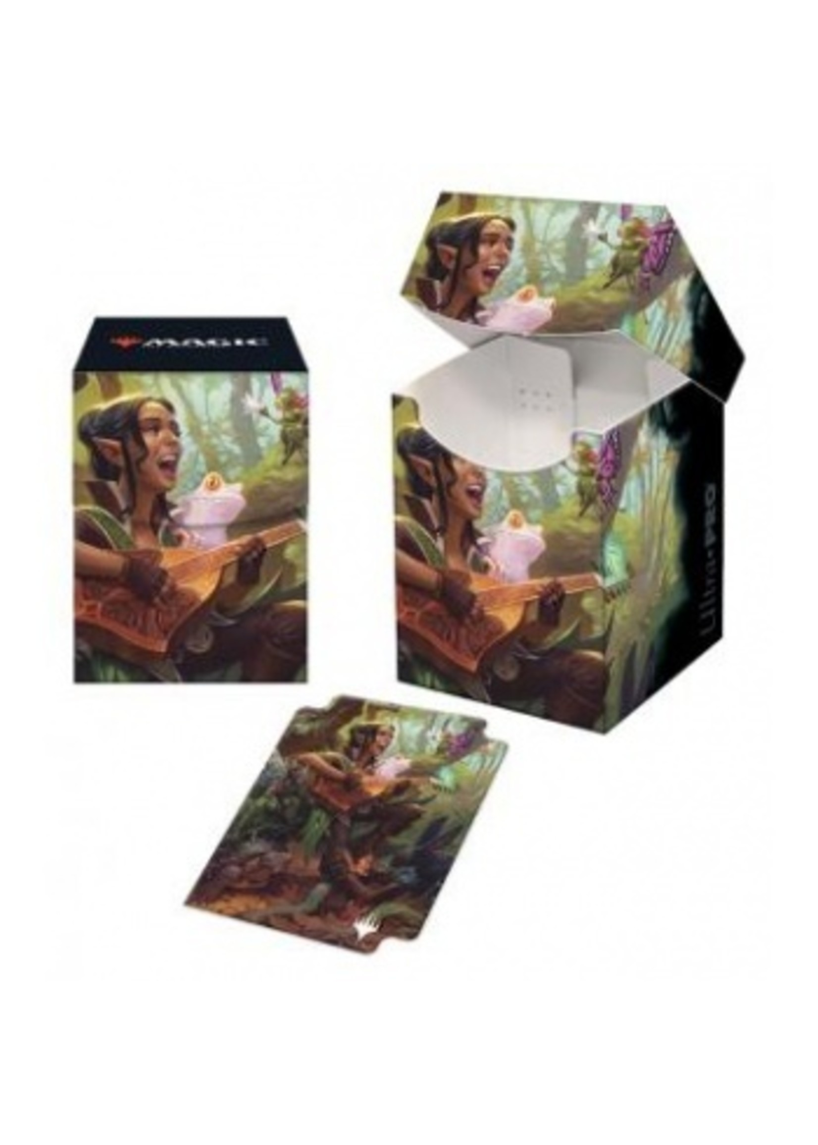 UP - 100+ Deck Box for Magic: The Gathering - Adventures in the Forgotten Realms V5