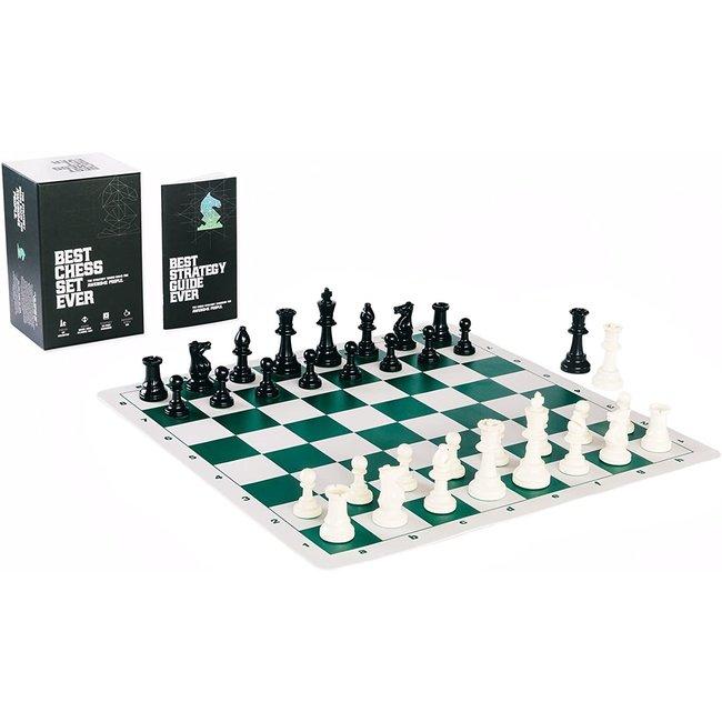 Best Chess Set Ever (Black Board) - EN
