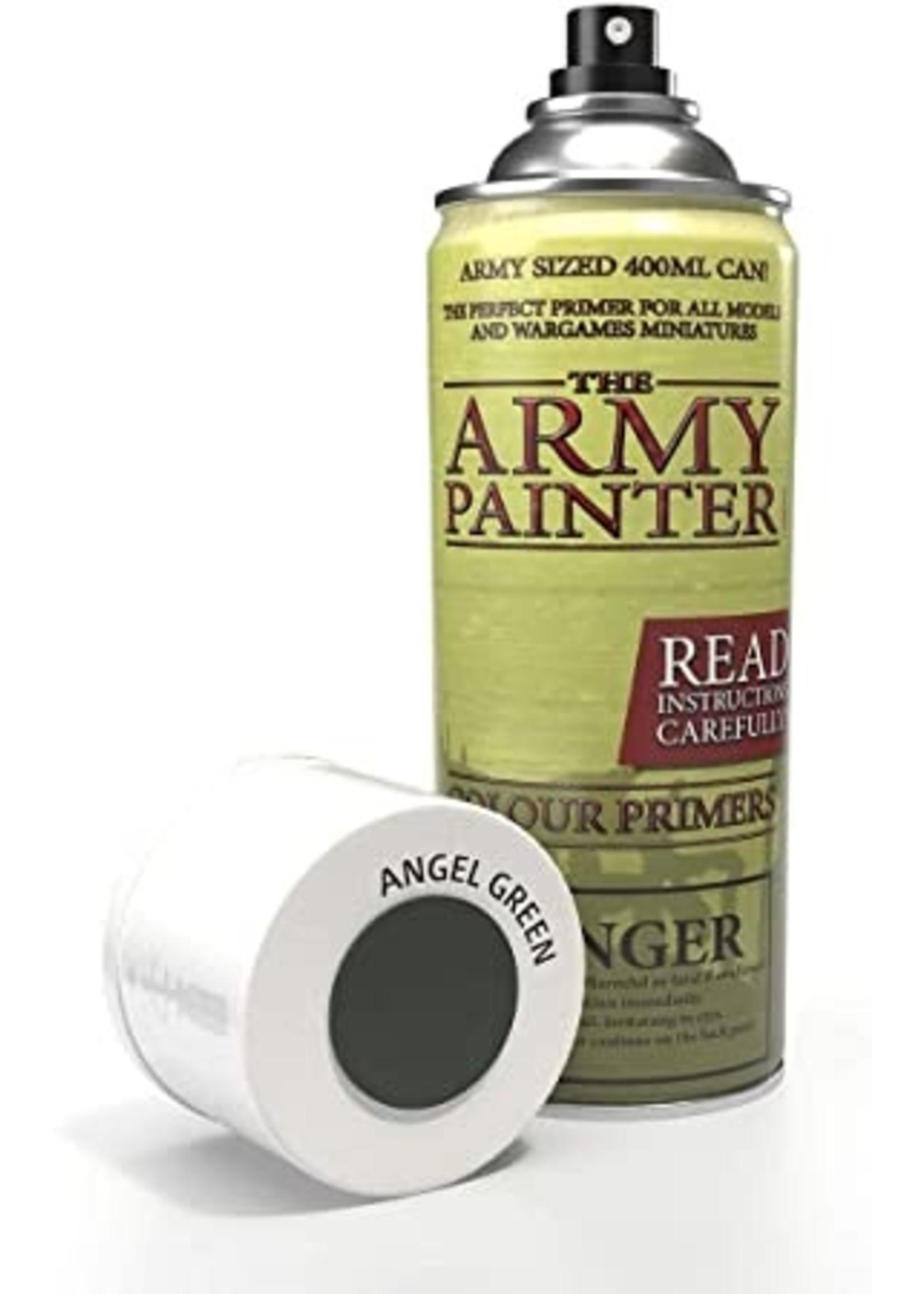 Army Painter Colour Primer - Angel Green (400Ml)