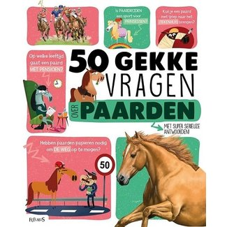 Clavis 50 gekke vragen - paarden