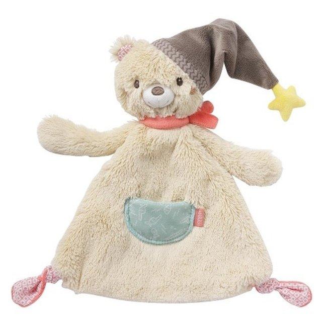 Fehn Baby Fehn - knuffeldoekje beer