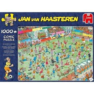 Jumbo Puzzel 1000 st Jan Van Haasteren - WK Vrouwenvoetbal