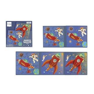 Dam Scratch 2 puzzels 20 st magnetisch - Ruimte