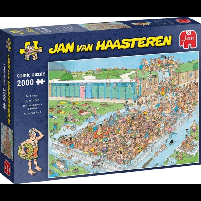 Puzzel Jan Van Haasteren - Bomvol Bad -2000 st