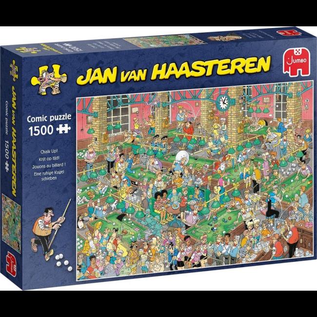 Puzzel Jan Van Haasteren - Krijt op Tijd - 1500 st