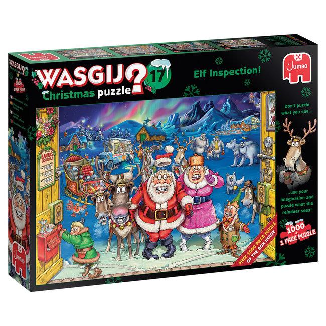 Wasgij Christmas 17 - Elf Inspectie - 2x 1000 st