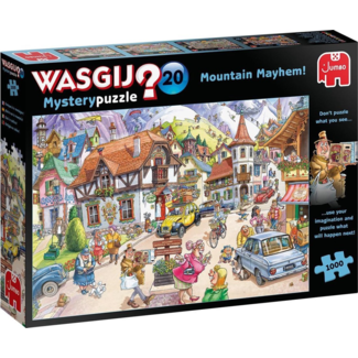 Wasgij Mystery 20 - Vakantie in de bergen!