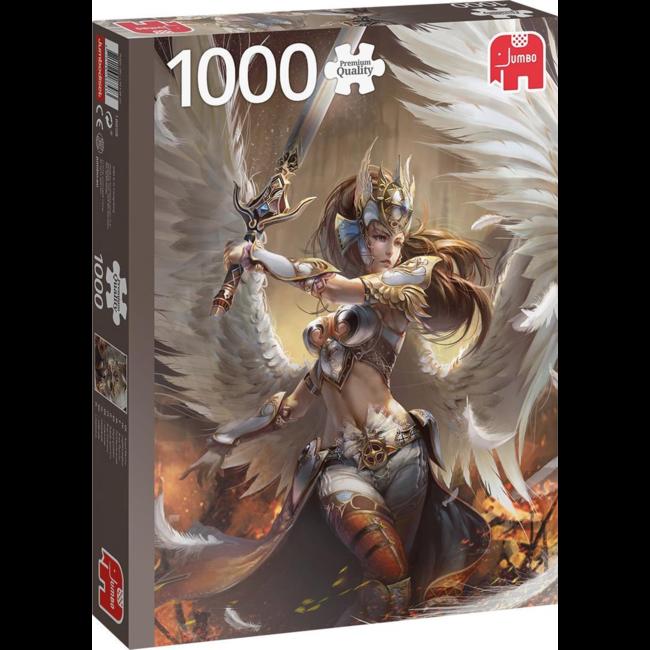 Puzzel Premium Collection - Angel Warrior - 1000 st