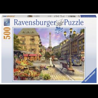 Ravensburger Puzzel 500 st Ravensburger - Wandeling door Parijs