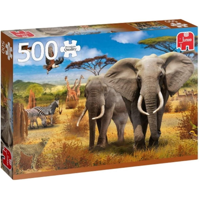 Puzzel Premium Collection - African Savannah - 500 st