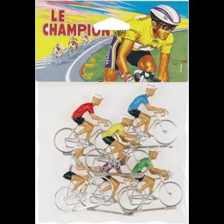 Le Champion - 6 fietsers