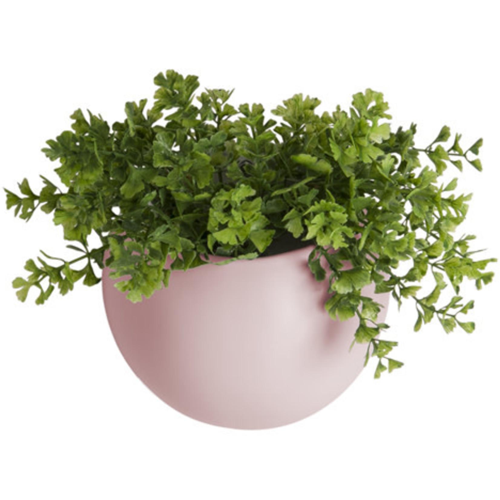 Present time Muurpot globe roze ∅ 14,5cm