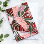 Wenskaart: Lilac leaf
