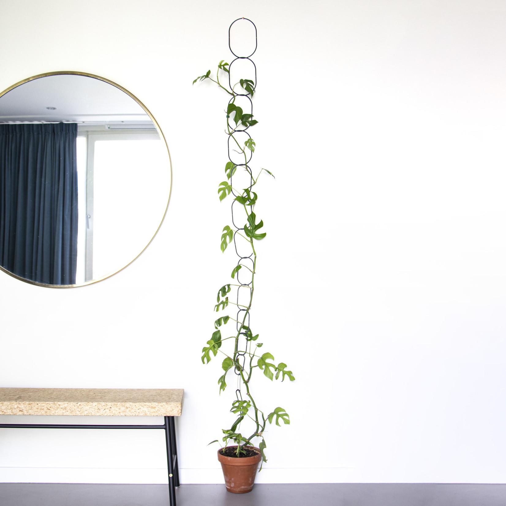 Botanopia Zwarte ketting klimondersteuning voor planten