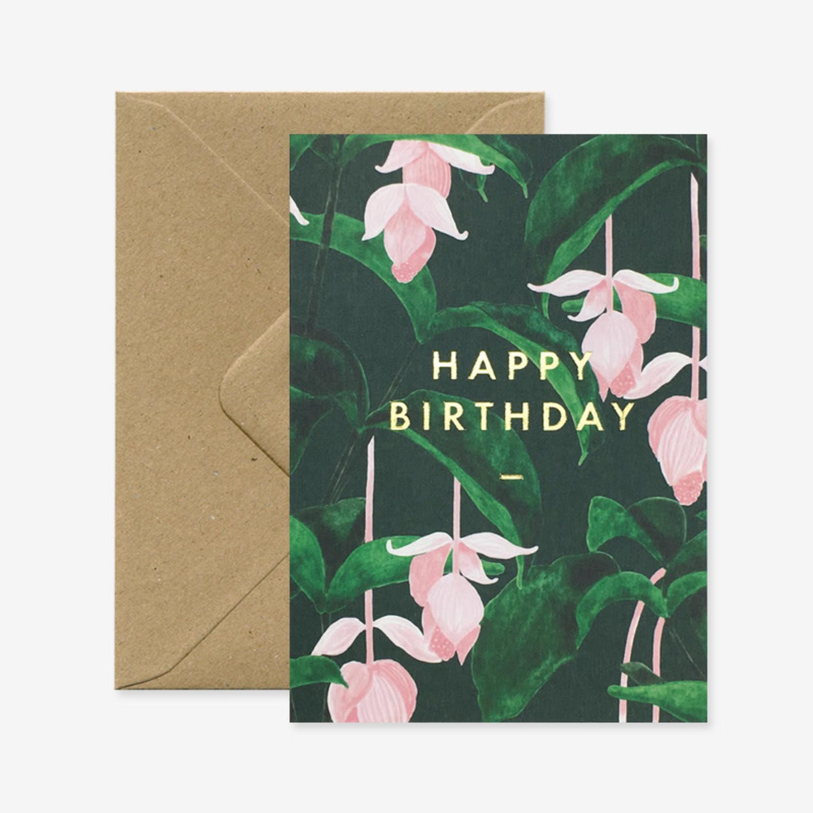 All the ways to say Wenskaart: Happy Birthday Medinilla