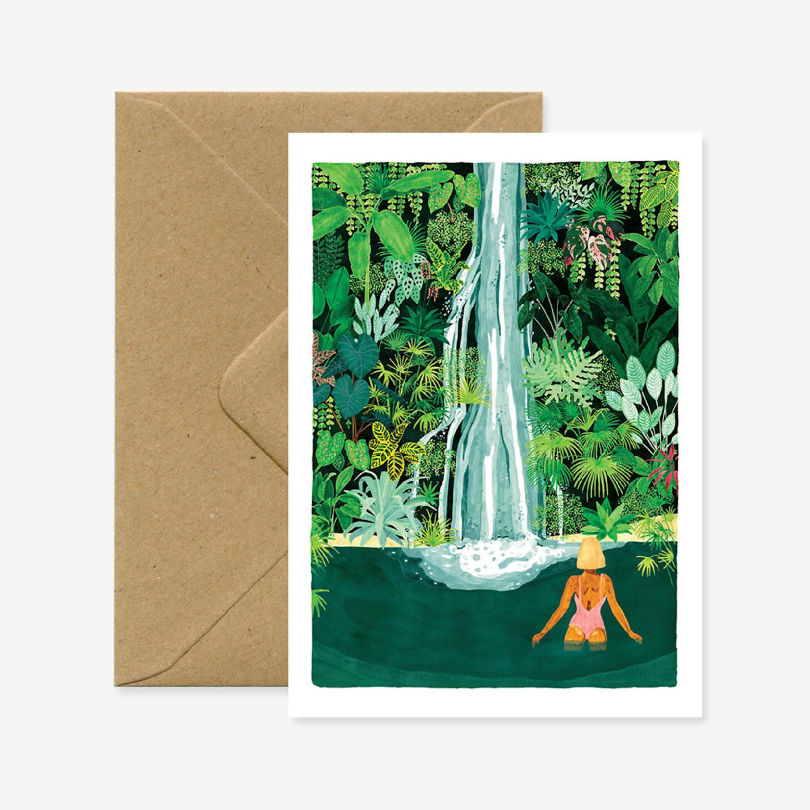 All the ways to say Wenskaart: Waterfall