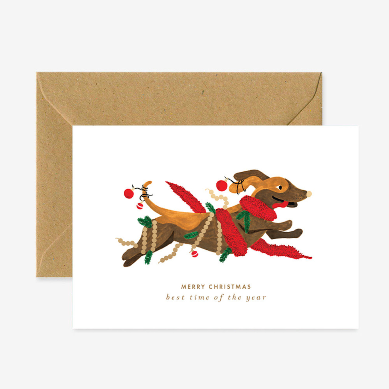 All the ways to say Wenskaart: Christmas dog