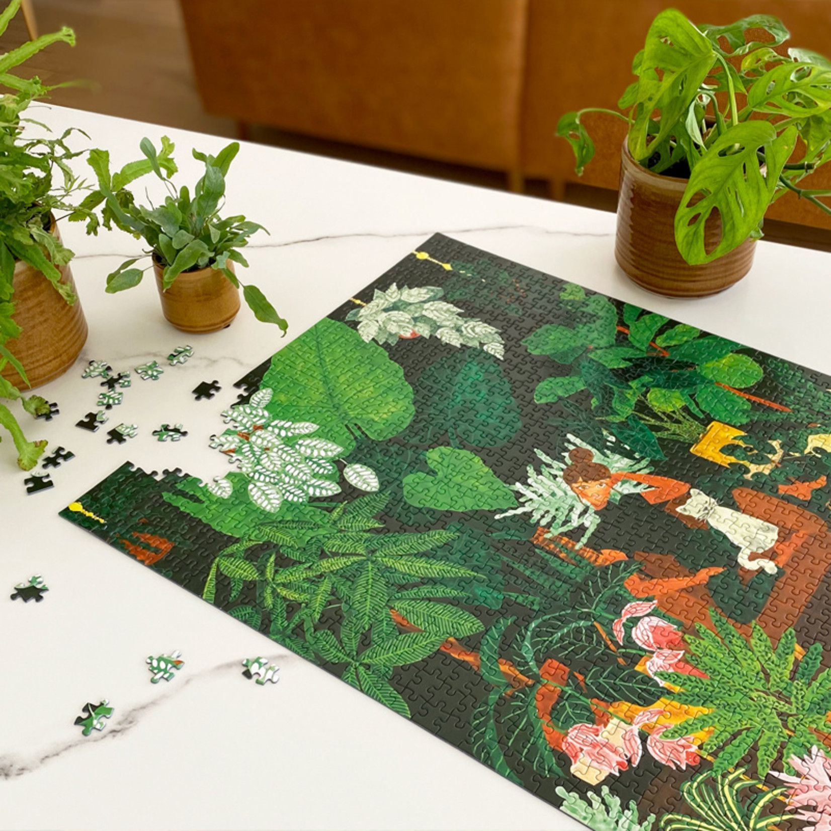 All the ways to say Puzzel: Plant addict lady
