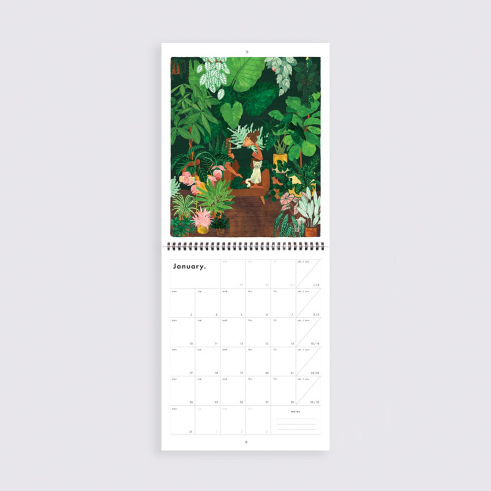All the ways to say Kalender: 2022 Botanical kingdom