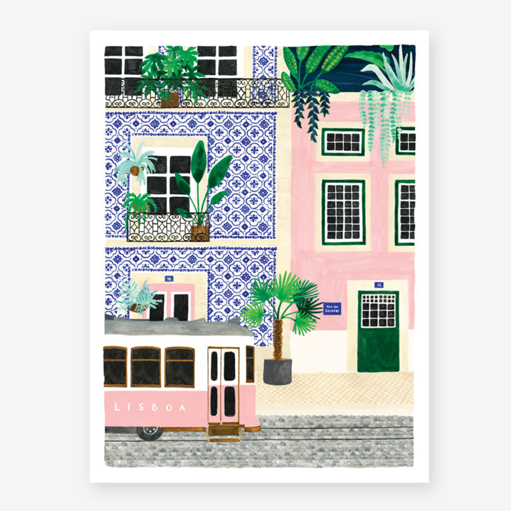 All the ways to say Poster: Lissabon 30x40cm