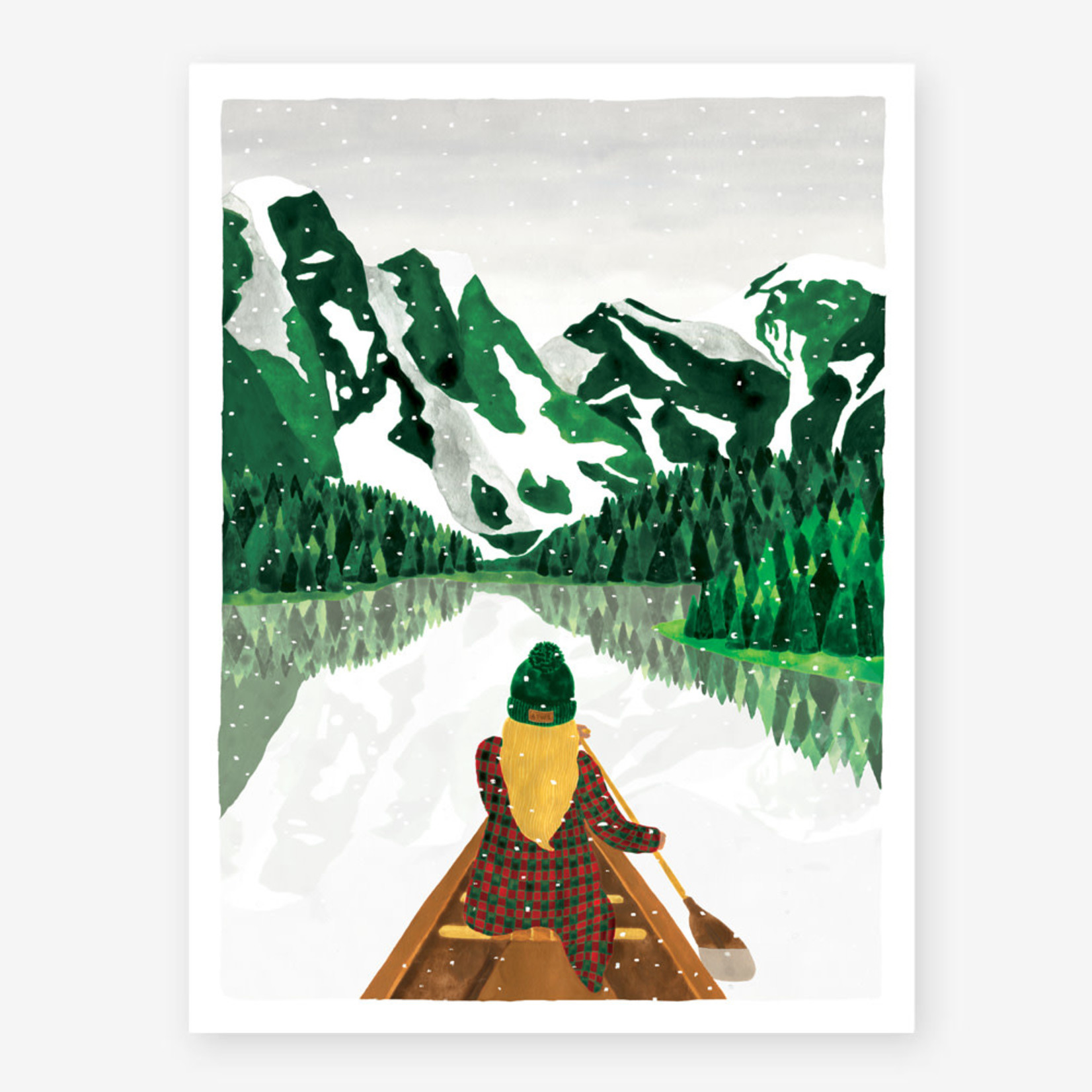 All the ways to say Poster: Winter Lac 30x40cm