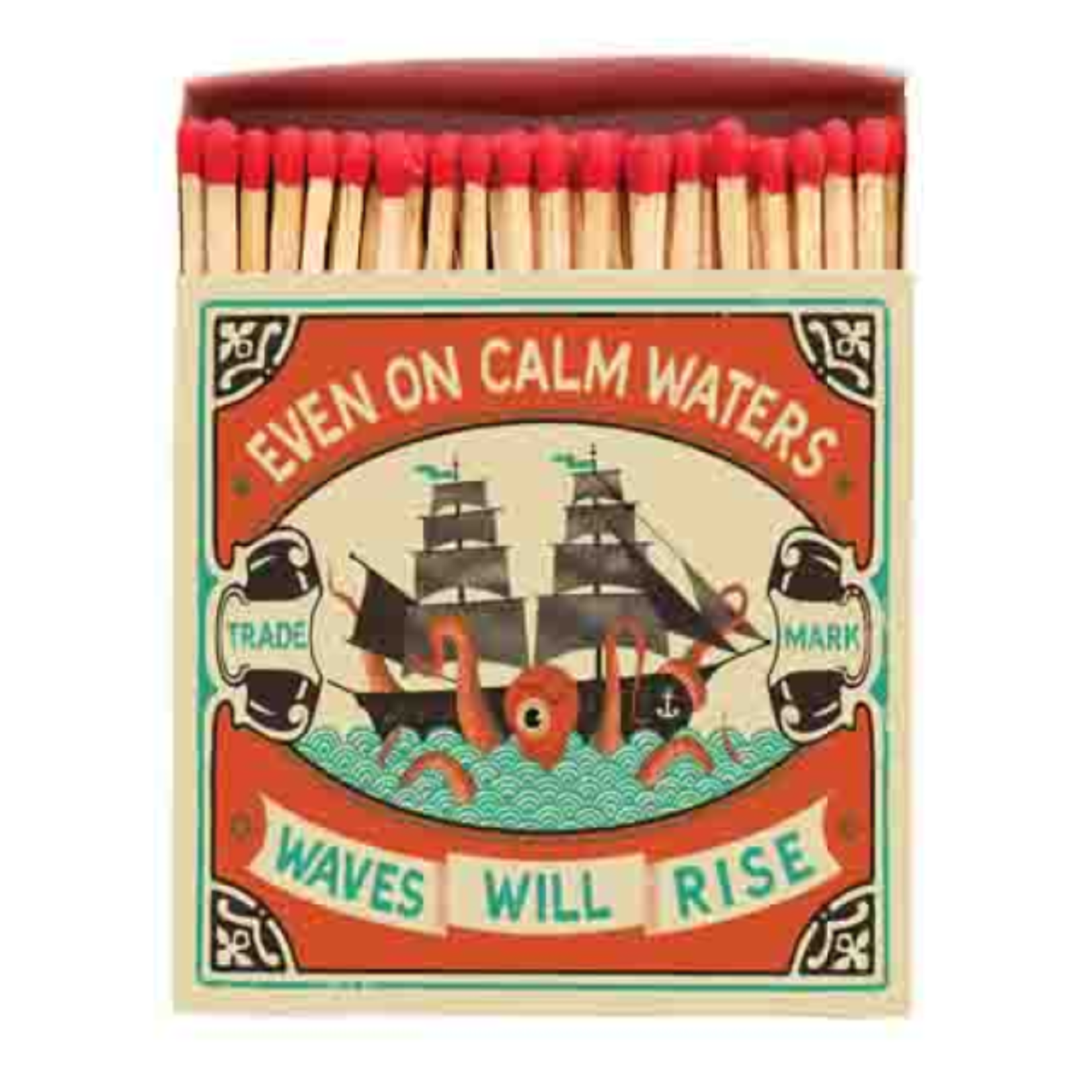 Saftey Matches Even on Calm Waters