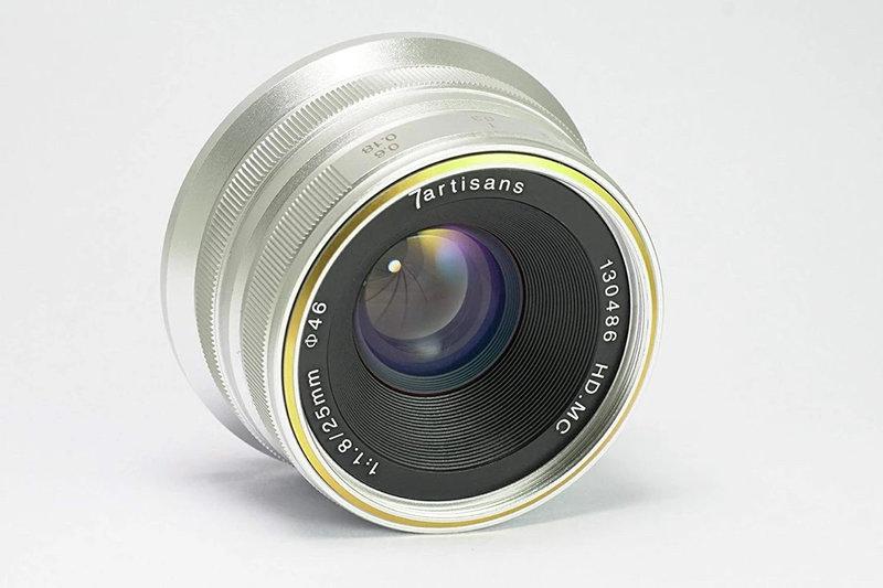 7Artisans 25mm f/1.8 for Fuji FX