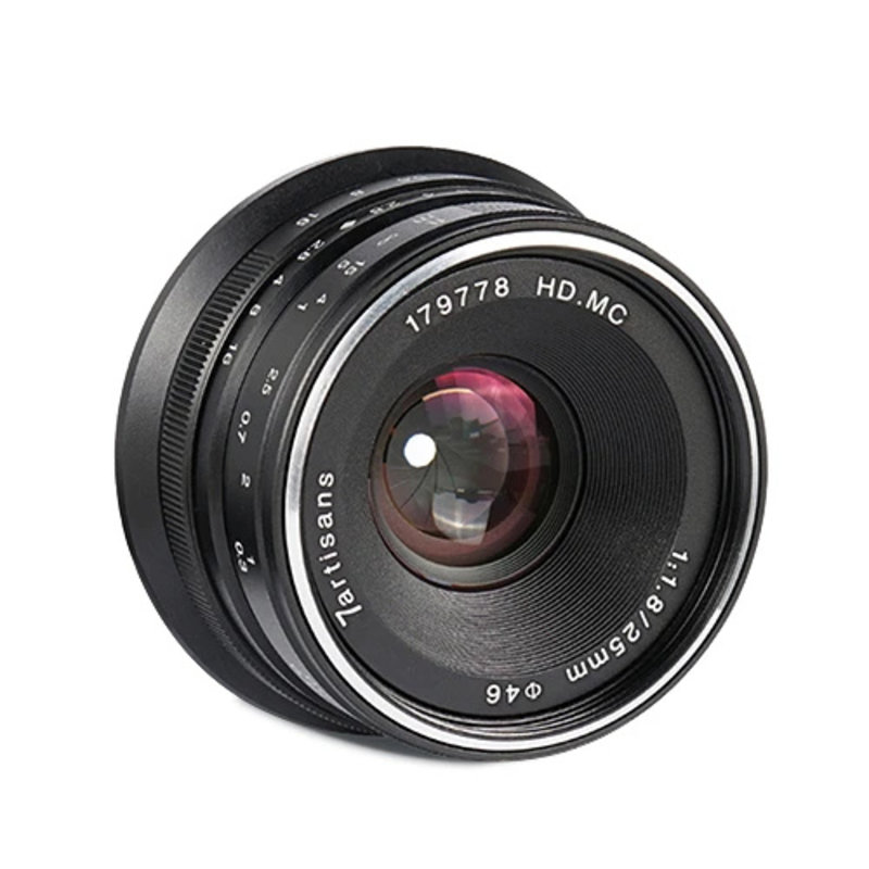 7Artisans 25mm f/1.8 for Canon EOS-M