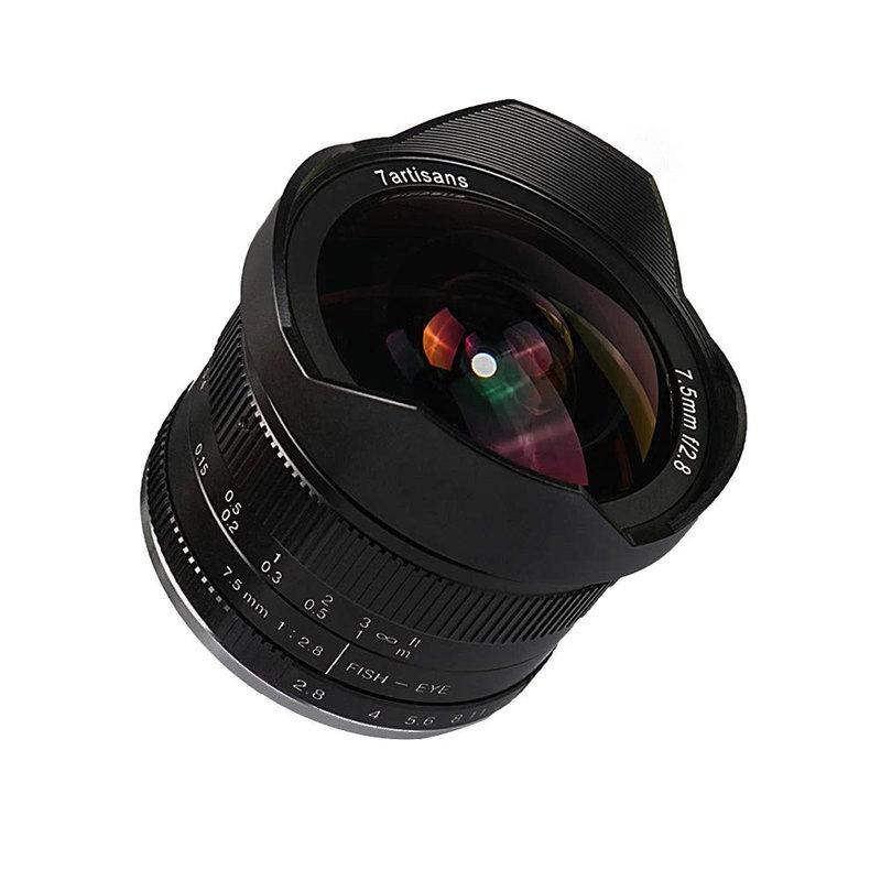 7Artisans 7.5mm f/2.8 Manual Focus (M43 Panasonic and Olympus mount)