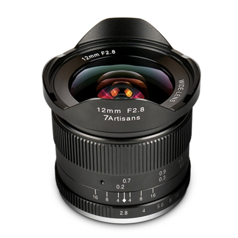 7Artisans 12mm f/2.8 APS-C (M43 Panasonic and Olympus)