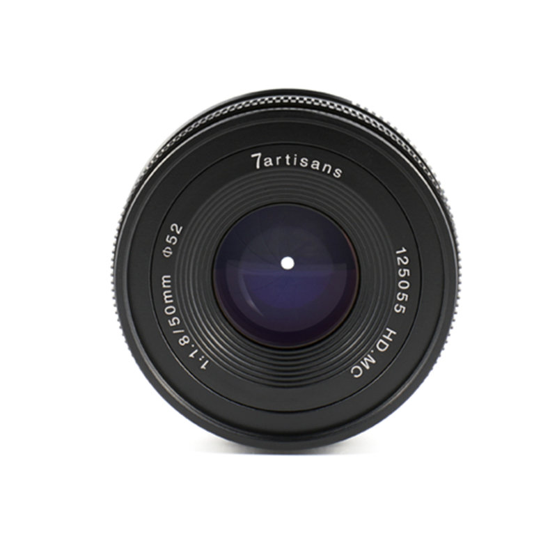 7Artisans 50mm f/1.8 APS-C  (Sony E Mount)