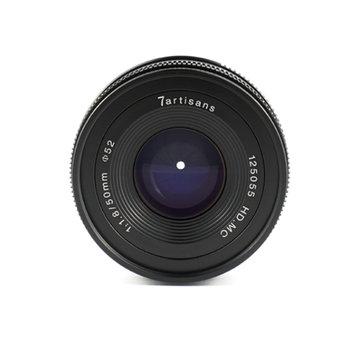 7Artisans 50mm f/1.8 APS-C Manual Lens (Fuji FX Mount)