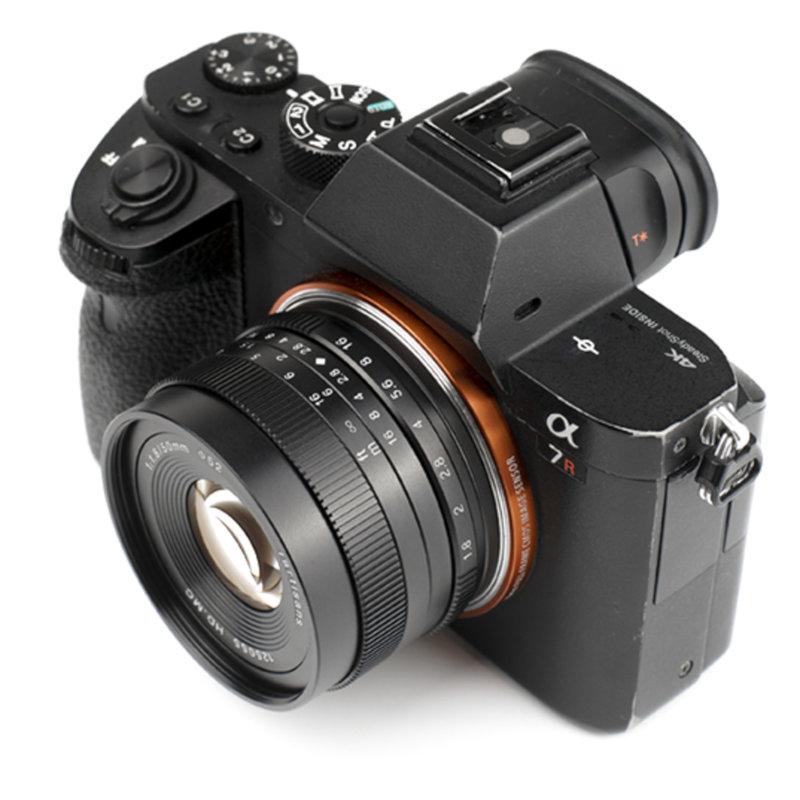 7Artisans 50mm f/1.8 APS-C Manual Len (M43 Panasonic & Olympus Mount)