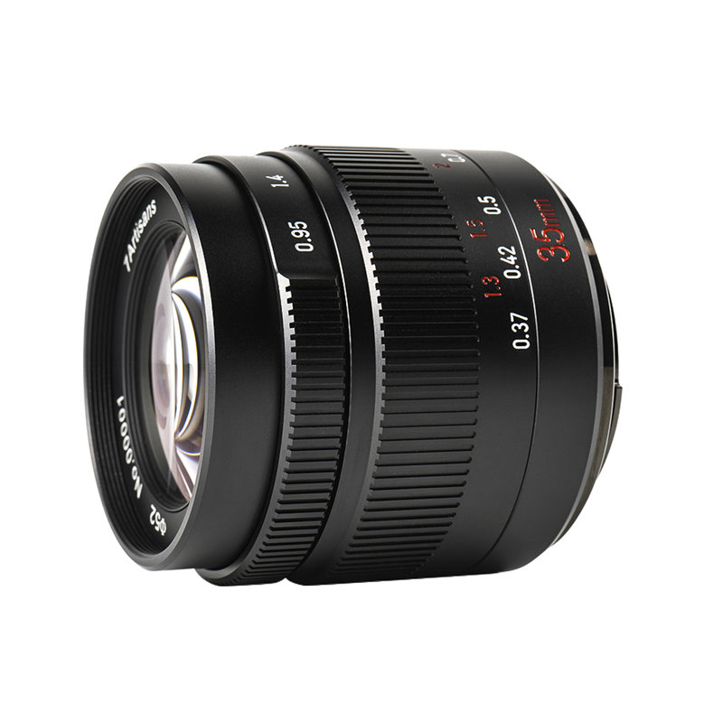 7Artisans 35mm f/0.95 (Canon EOS-M Mount)