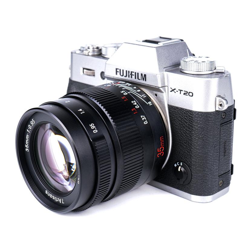 7Artisans  35mm f/0.95 (Fuji FX Mount)