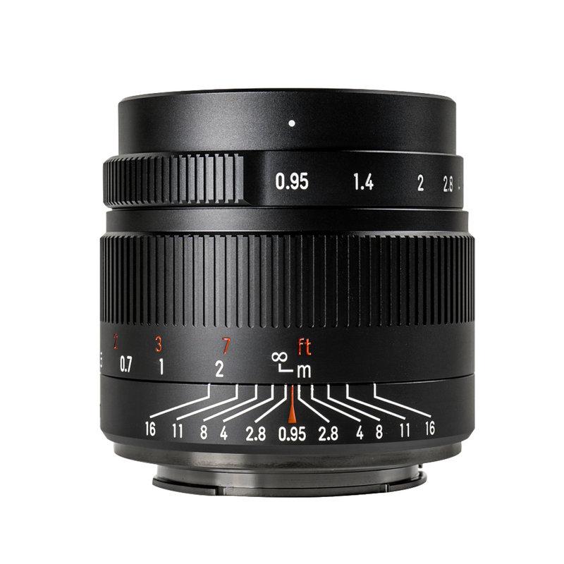 7Artisans 35mm f/0.95 (Panasonic and Olympus M43 Mount)