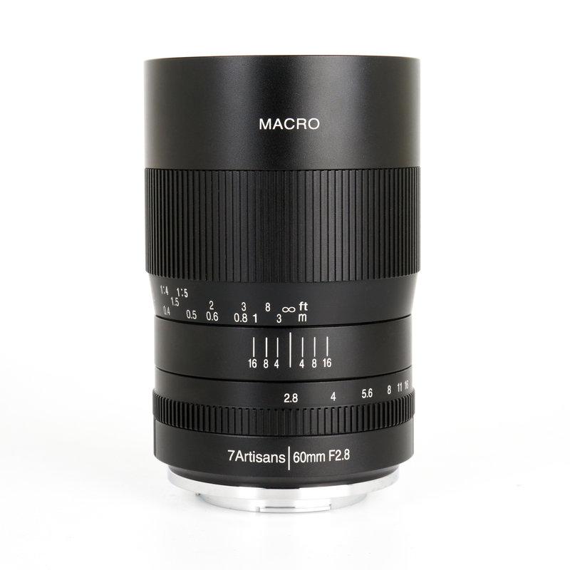 7Artisans 60mm f/2.8 Macro Fuji (FX Mount)