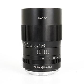 7Artisans 60mm f/2.8 Macro M43 (Panasonic Olympus Mount)