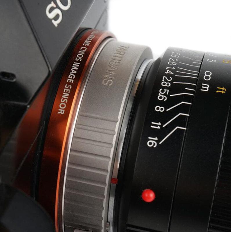7Artisans Leica Adapter to Sony E Mount (Titanium)