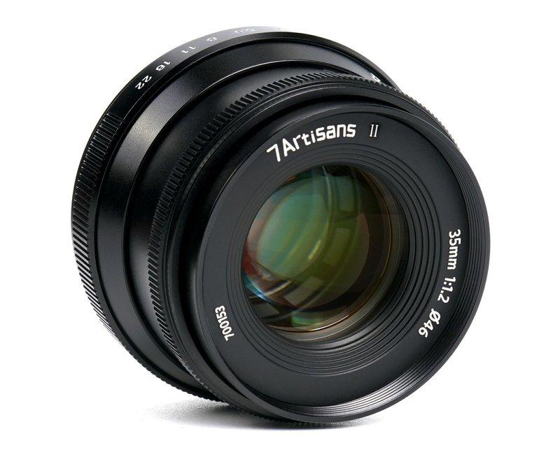 7Artisans 35mm f/1.2 APS-C MK 2 (Canon EOS-M)