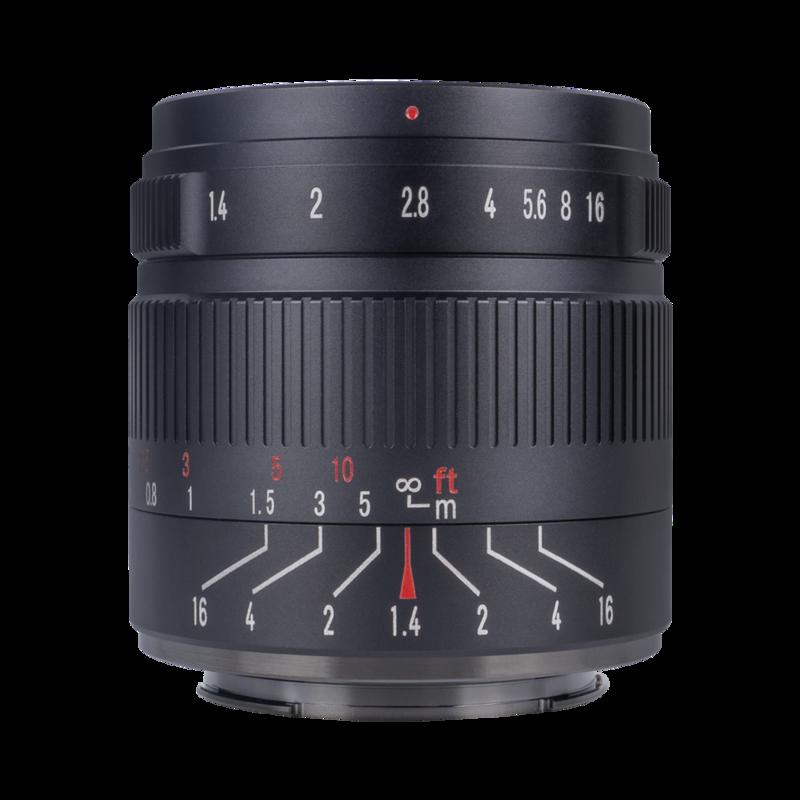7Artisans 55mm f/1.4 MK 2 (Canon EOS-M Mount)