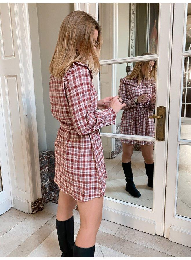 MARLEE DRESS - RED