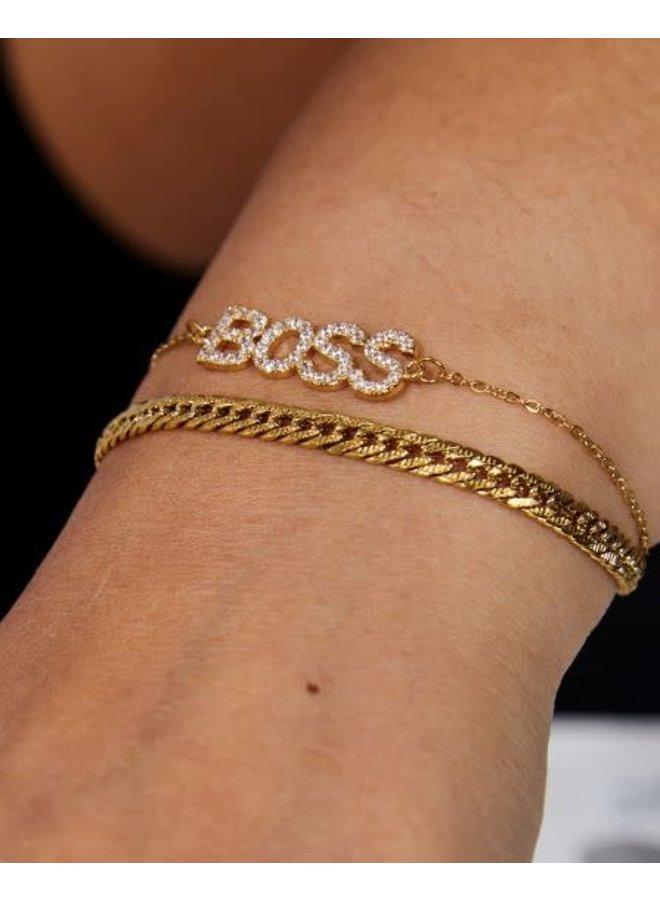 BOSS BRACELET - GOLD