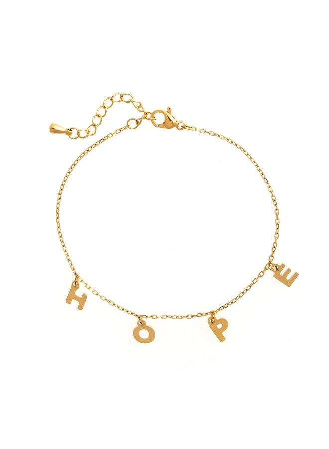 HOPE BRACELET - GOLD