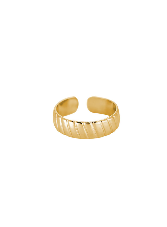 BAY STAINLESS STEEL RING