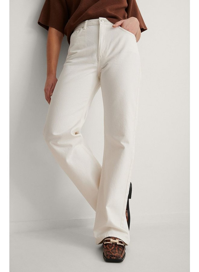 RELAXED JEANS - ECRU