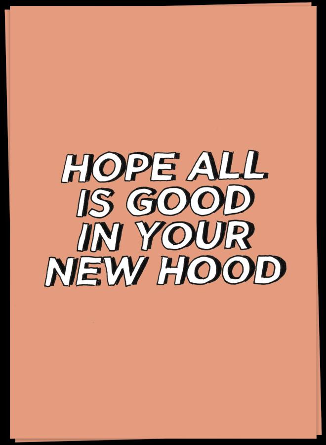 KAART BLANCHE - NEW HOOD