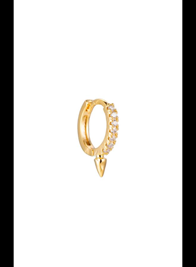 STEWART PLATED EARRINGS - GOLD