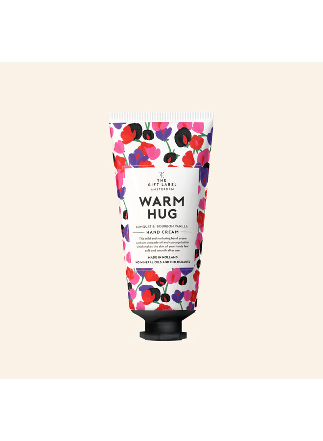HAND CREAM TUBE - WARM HUG